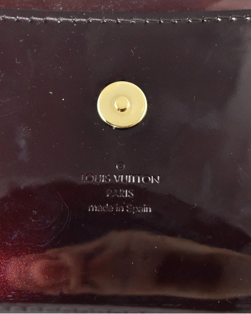 Clutch Louis Vuitton verniz